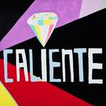 Cruz Ortiz; Caliente Diamond, 2013; gouache on panel; 48 x 48 in.