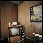 Misty Kealser; Vacation (Lunar Motel), Headless Horseman Haunted House, Ulster Park, NY, 2016; archival pigment print, 30 x 30 inches